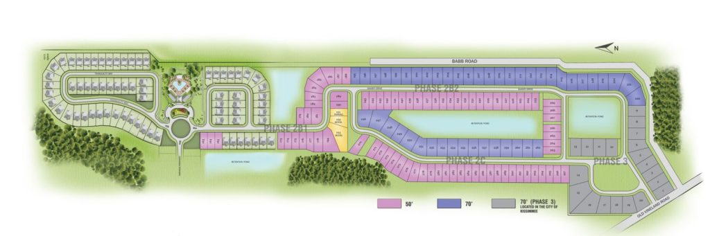 Veranda Palms Site Plan